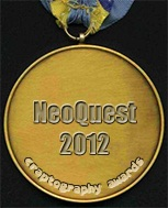 NeoQuest 2012 Medal of Craptography