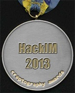 HackIM 2013 Medal of Craptography